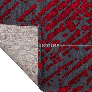 Modern Desenli Kırmızı Halı CPL 01 - Thumbnail