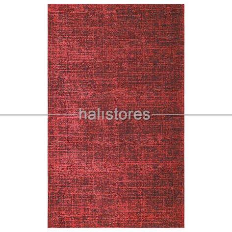 Modern Desenli Kırmızı Halı CPL 03