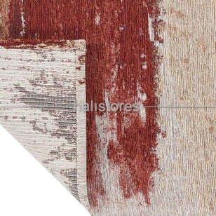 Modern Desenli Renkli Baskılı Halı SM 36 Terra - Thumbnail