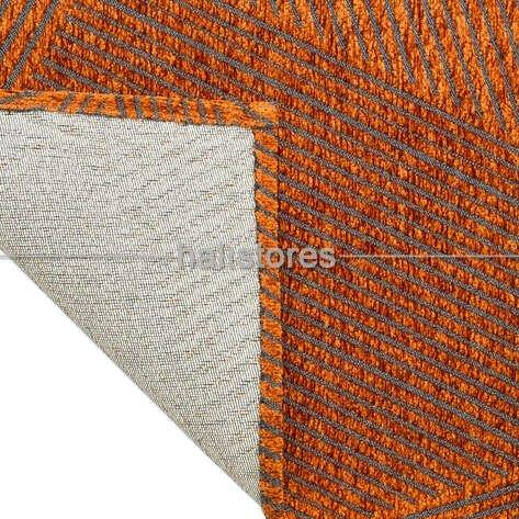Modern Desenli Turuncu Halı CPL 02