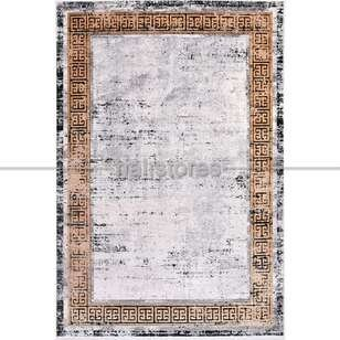 Modern Desenli Yolluk Halı Kristal 18114 - Thumbnail