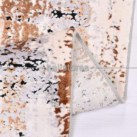 Modern Desenli Yolluk Halı Kristal 18115
