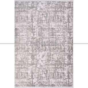 Modern Gri Salon Halısı Royal 14666K - Thumbnail