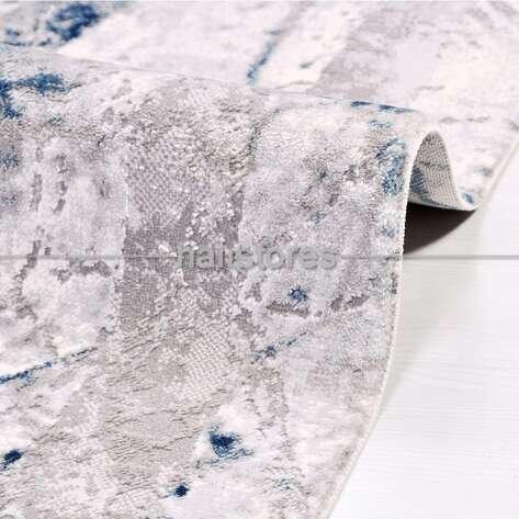 Modern Mavi Salon Halısı Babil 2007MV