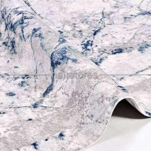 Halıstores - Modern Mavi Salon Halısı Babil 2007MV (1)