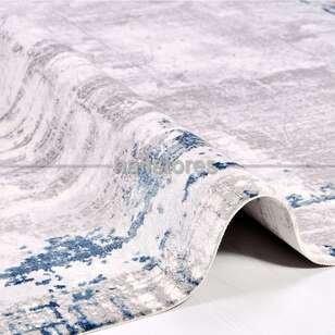 Halıstores - Modern Mavi Salon Halısı Babil 2012MV (1)