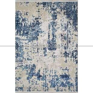 Modern Mavi Salon Halısı Bella 1006GM - Thumbnail