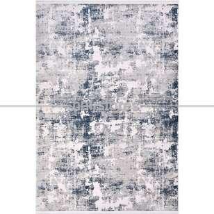 Modern Mavi Salon Halısı Royal 14609K - Thumbnail