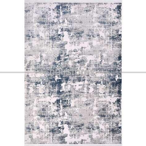 Modern Mavi Salon Halısı Royal 14609K