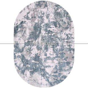 Modern Oval Bambu Halı Galaxy 13620 - Thumbnail