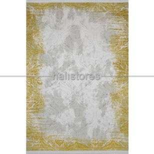 Modern Sarı Salon Halısı Bella 1003GS - Thumbnail