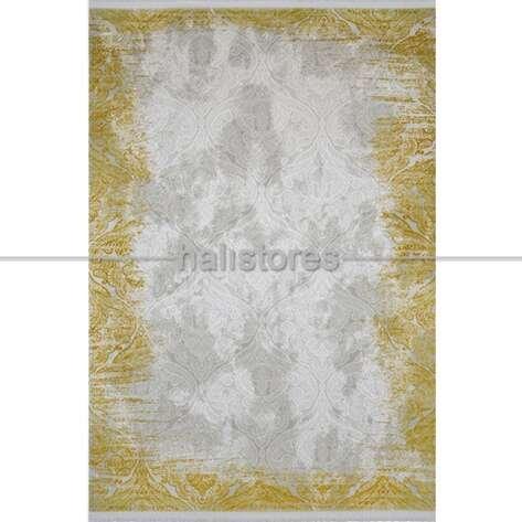 Modern Sarı Salon Halısı Bella 1003GS