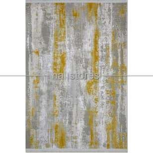 Modern Sarı Salon Halısı Bella 1007GS - Thumbnail