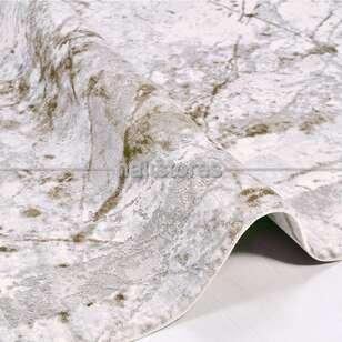 Halıstores - Modern Yeşil Salon Halısı Babil 2007YL (1)