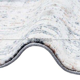 Modern Yolluk Halı CM 10 Bej-Gümüş - Thumbnail