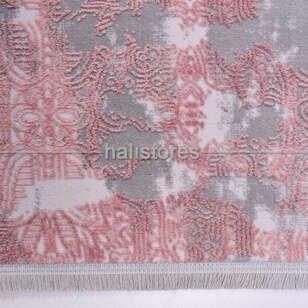Modern Yuvarlak Bambu Halı 13510 - Thumbnail