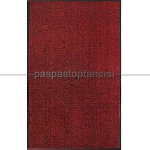 Paspas Toptancısı - Nem ve Toz Alıcı Yolluk Paspas Leyla Kırmızı (1)