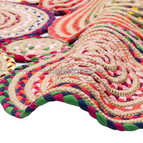 Örgü Halı Choti Mix 01 Renkli