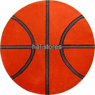 Pierre Cardin Halı Custom Design Kids Basketbol Topu Halı - Thumbnail