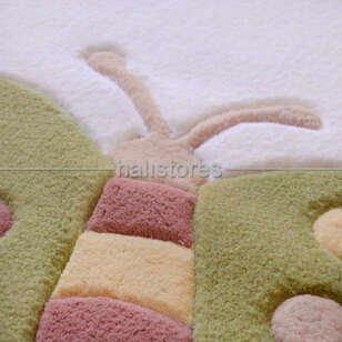 Pierre Cardin Halı Custom Design Kids Kelebek - Thumbnail