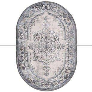 Pierre Cardin Klasik Oval Halı Magnifique MQ31H - Thumbnail