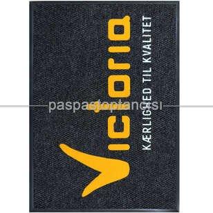 Restaurant için Logolu Halı Paspas - Thumbnail