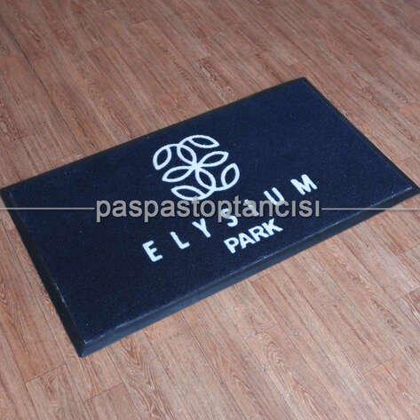 Siteler için Logolu Koko Paspas