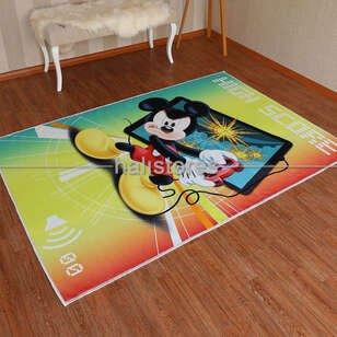 Taç - Taç Lisanslı Mickey Erkek Çocuk Halısı (1)