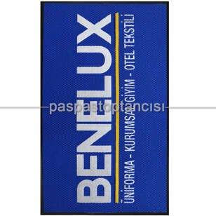 Tekstil Firmaları için Logolu Halı Paspas - Thumbnail