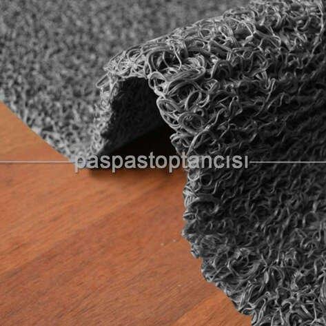Toptan Kıvırcık Paspas Süper 16 mm Gri