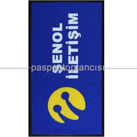 Turkcell Mağazaları için Logolu Paspas