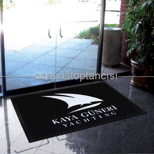 Yatlara Özel Logolu Koko Paspas - Thumbnail