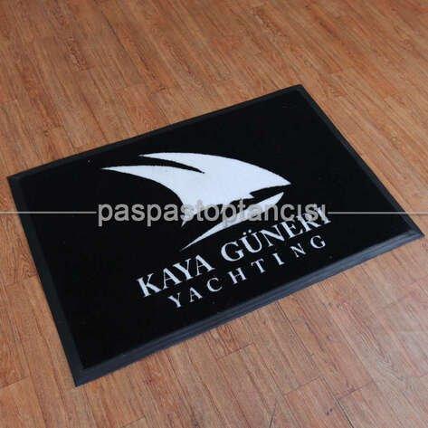 Yatlara Özel Logolu Koko Paspas
