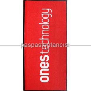 Yazılım Firmaları için Logolu Koko Paspas - Thumbnail