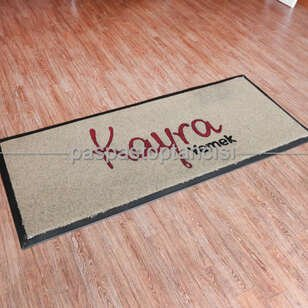 Yemek Catering Firmaları için Logolu Koko Paspas - Thumbnail