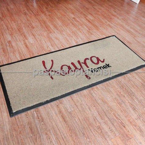 Yemek Catering Firmaları için Logolu Koko Paspas