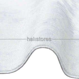 Yıkanabilir Halı Sateen ST 08 Beyaz - Thumbnail