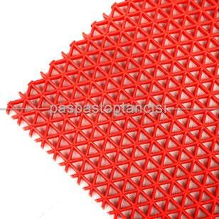 Paspas Toptancısı - Yıldız Z Mat Islak Zemin Paspası Normal 5 mm Kırmızı (1)
