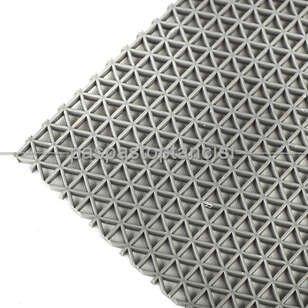 Paspas Toptancısı - Yıldız Z Mat Islak Zemin Paspası Normal 5 mm Gri (1)