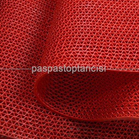 Z Mat Islak Zemin Paspası Normal 5 mm Kırmızı