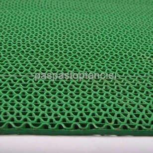 Z Mat Islak Zemin Paspası Normal 5 mm Yeşil - Thumbnail