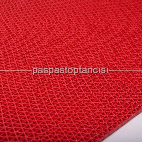 Z Mat Islak Zemin Paspası Süper 7 mm Kırmızı