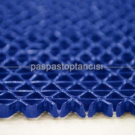 Z Mat Islak Zemin Paspası Süper 7 mm Mavi