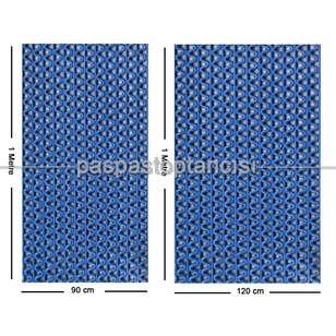Z Mat Islak Zemin Paspası Süper 7 mm Mavi - Thumbnail